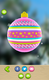 Christmas Tree Bauble Maker 3D - screenshot thumbnail