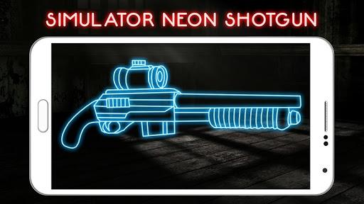 模擬器霓虹燈獵槍