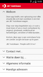 J&T Autolease Drivers App- screenshot thumbnail