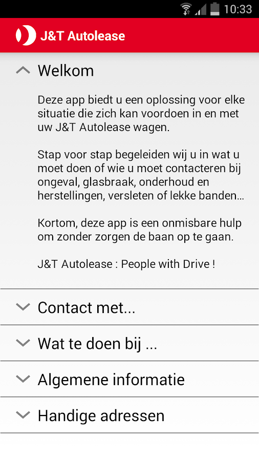 J&T Autolease Drivers App- screenshot
