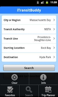 iTransitBuddy MBTA Rail Lite - screenshot thumbnail