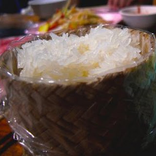 Coconut Sticky Rice.