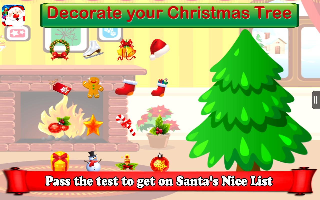 santa naughty and nice list game