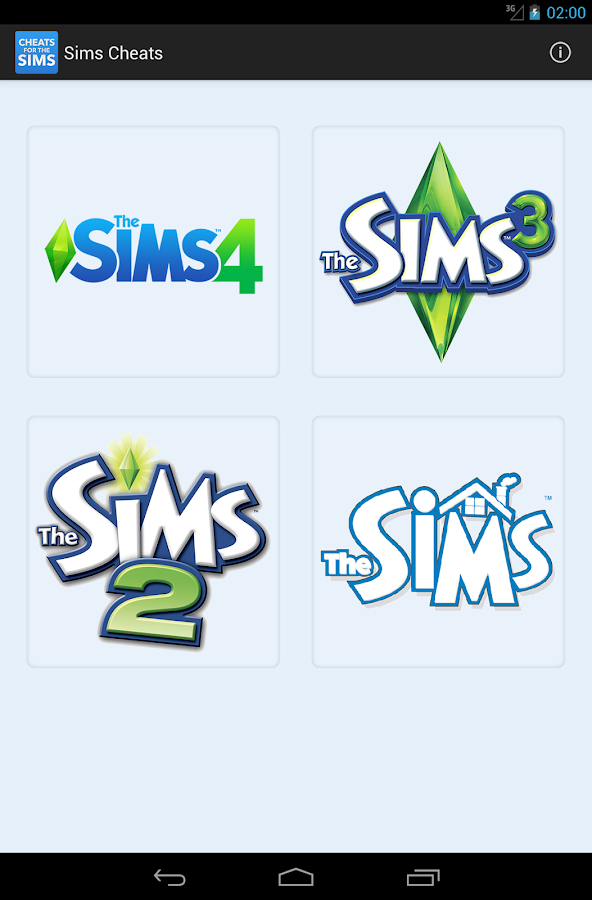 Cheats for The Sims - screenshot