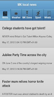 Milton Keynes Local News - screenshot thumbnail