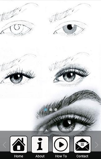 目を描画する方法