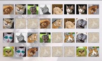 Screenshot of Cats Memory Game Free