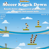 Soccer KnockDown Physics Game