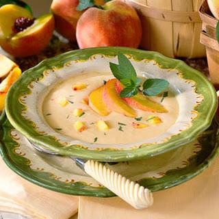 Cream Of Peach Soup