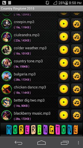 玩音樂App|カントリー着メロ2016免費|APP試玩