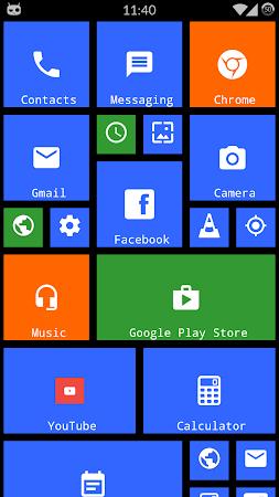 Metro Theme Launcher - WP Look 1.12 screenshot 642105
