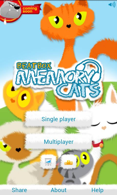 Beatbox Memory – Cats - screenshot