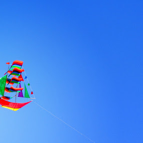 simpel by Alif Muhammad - Artistic Objects Toys ( simple indonesian boat kites )