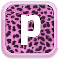 Pink Cheetah Keyboard Skin logo