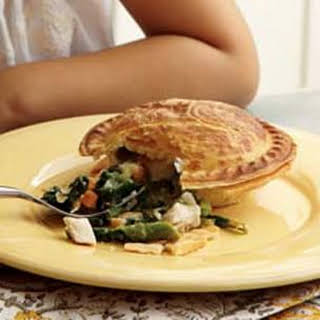 Chicken and Spring Vegetable Potpies.