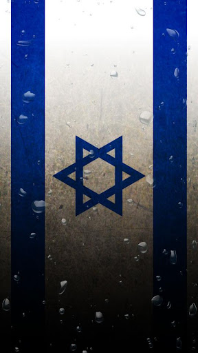 Israel flag water effect LWP