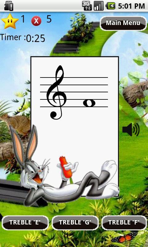 Learn Musical Notes Flash Card- screenshot