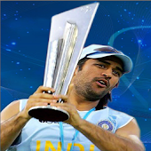 Dhoni Fans Digital clock free