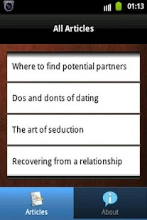 Dating Guides: Do's And Don'ts - screenshot thumbnail