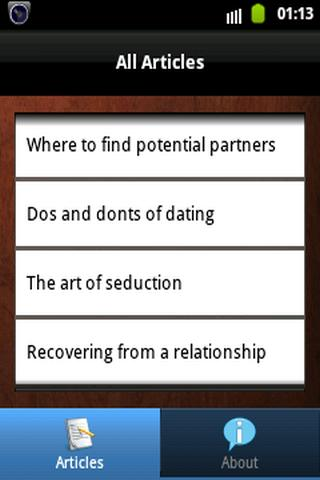Dating Guides: Do's And Don'ts - screenshot