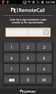 RemoteCall Starter M v2.0 - screenshot thumbnail
