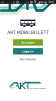 Screenshot of Akt Mobilbillett
