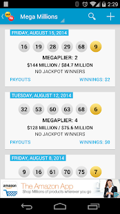 Mega Millions Amp Powerball Android Apps On Google Play