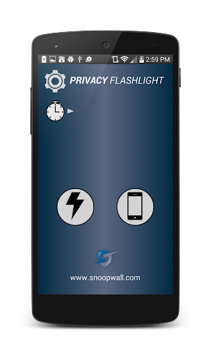 Privacy Flashlight