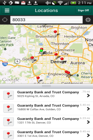Guaranty Mobile Banking- screenshot