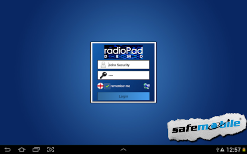 radioPad Demo - screenshot thumbnail