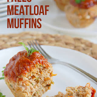 Low Fat Paleo Meatloaf Muffins.