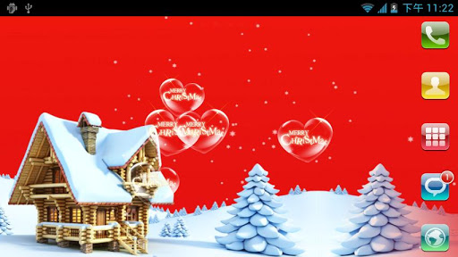 Christmas LiveWallpaper 팩