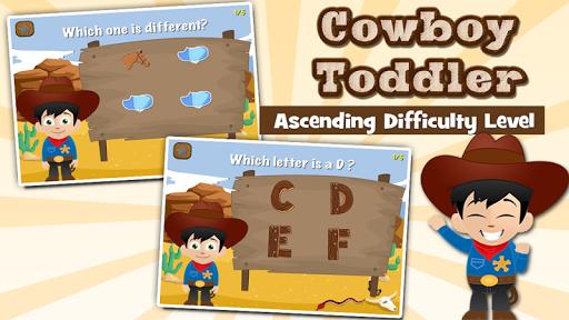Cowboy Toddler Kids Games Full