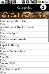 Audio Catholic Teaching- screenshot thumbnail