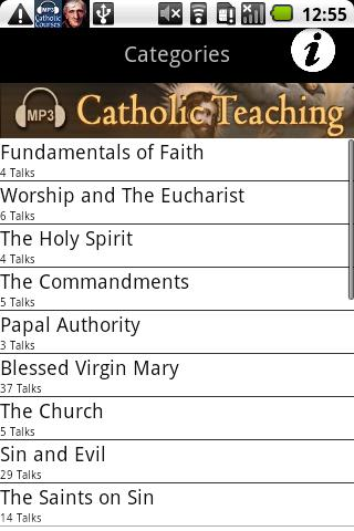 Audio Catholic Teaching - screenshot