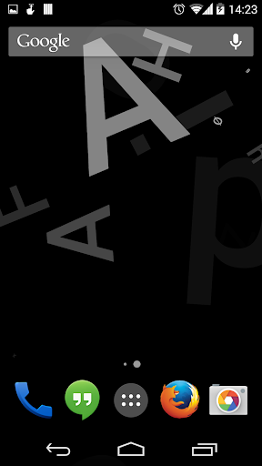 Typopaper Live Wallpaper