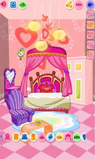 Flower princess 's bedroom