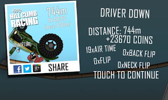Screenshot of Hill Climb Racing