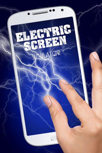 Simulator electric screen