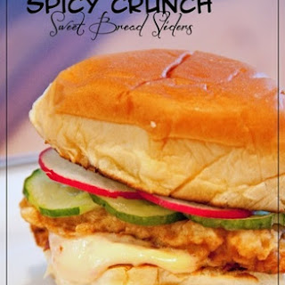 Spicy Crunch Sweet Bread Sliders