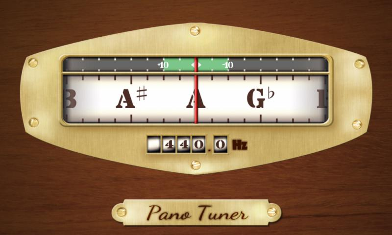 Pano Tuner - Chromatic Tuner- screenshot