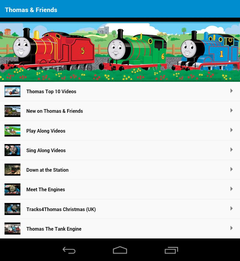 Thomas Train And Friends Thomas Train Amp Friends Videos Screenshot