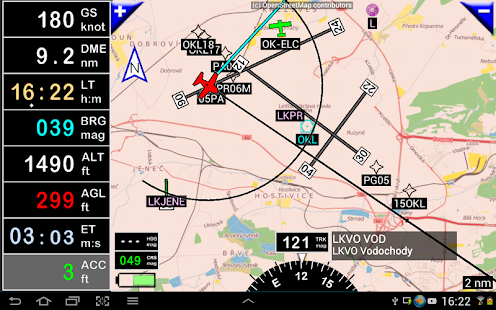 FLY is FUN Aviation Navigation - screenshot thumbnail