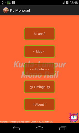 Kuala Lumpur Monorail KL