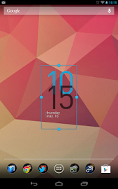 Minimal Clock Widget Screenshot 3