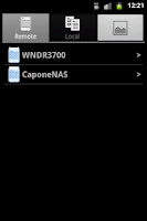Screenshot of NETGEAR ReadyNAS Remote
