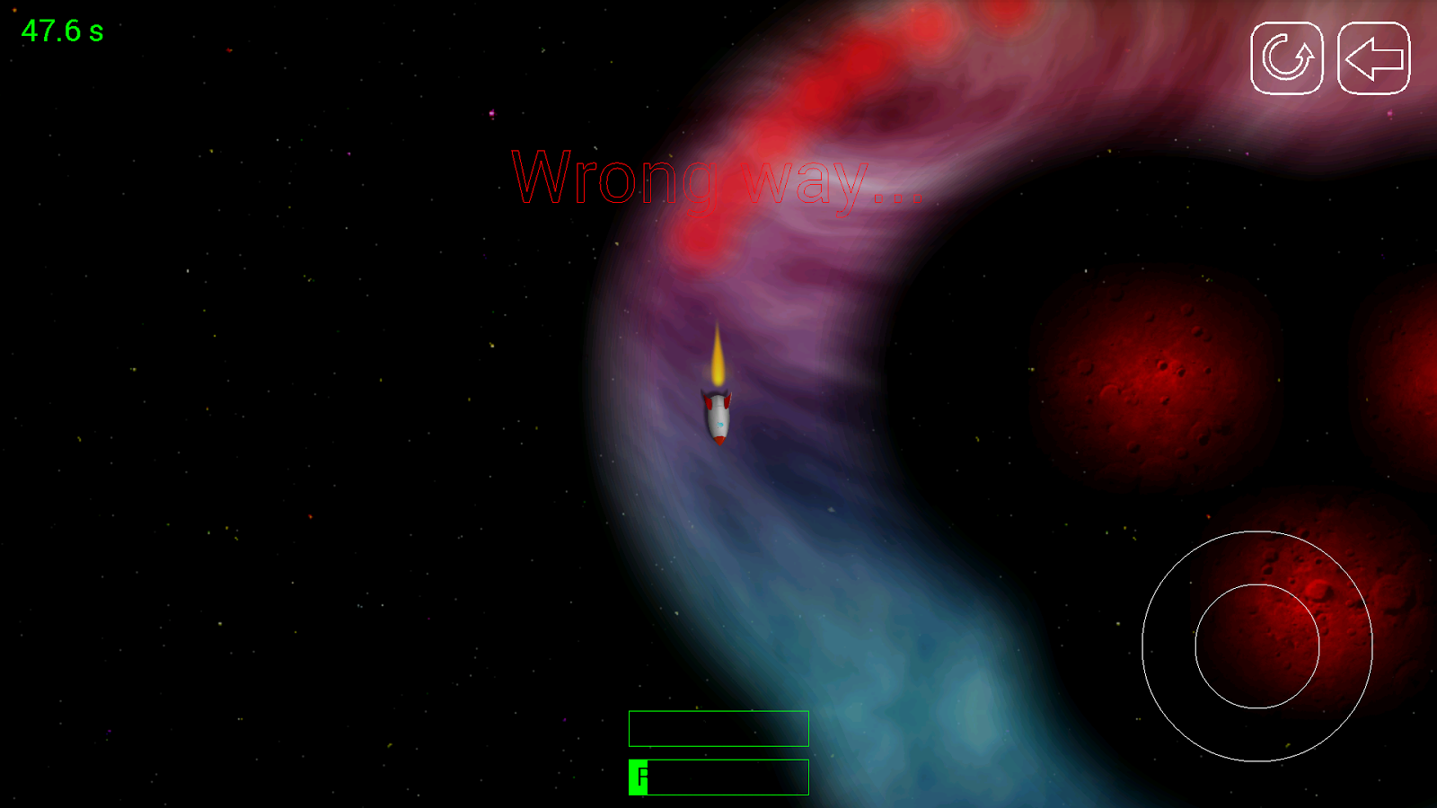 Gravity Blast- screenshot