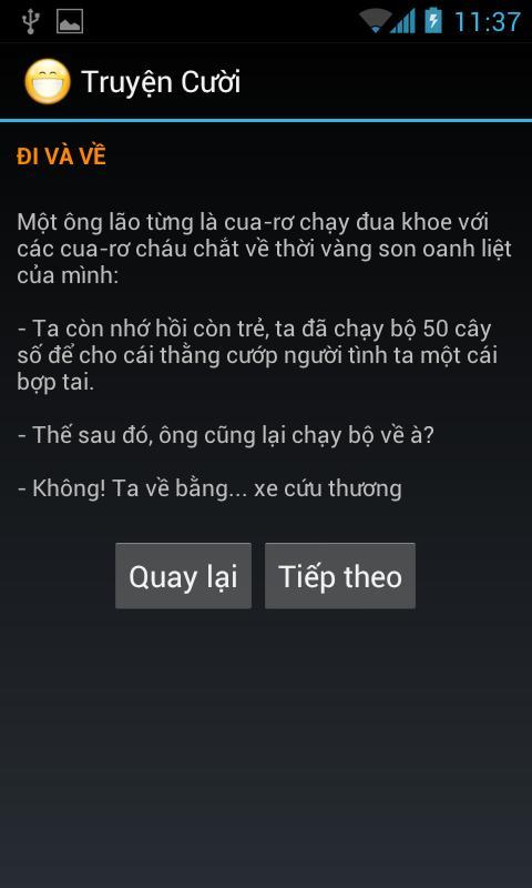 Truyện Cười (Truyen cuoi)- screenshot