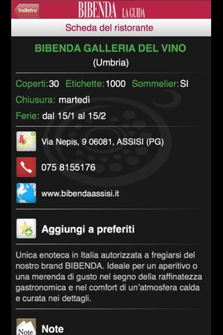 BIBENDA 2013 LA GUIDA - screenshot