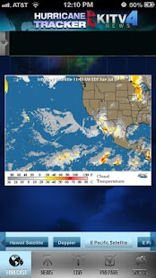 Hurricane Tracker KITV - screenshot thumbnail
